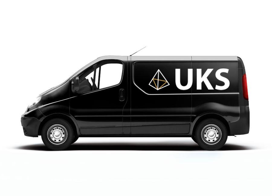 UKS van mockup