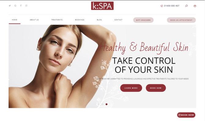 Kspa website redesign homepage slide one