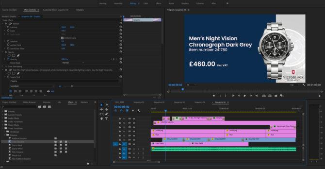 Victorinox INOX watches video production
