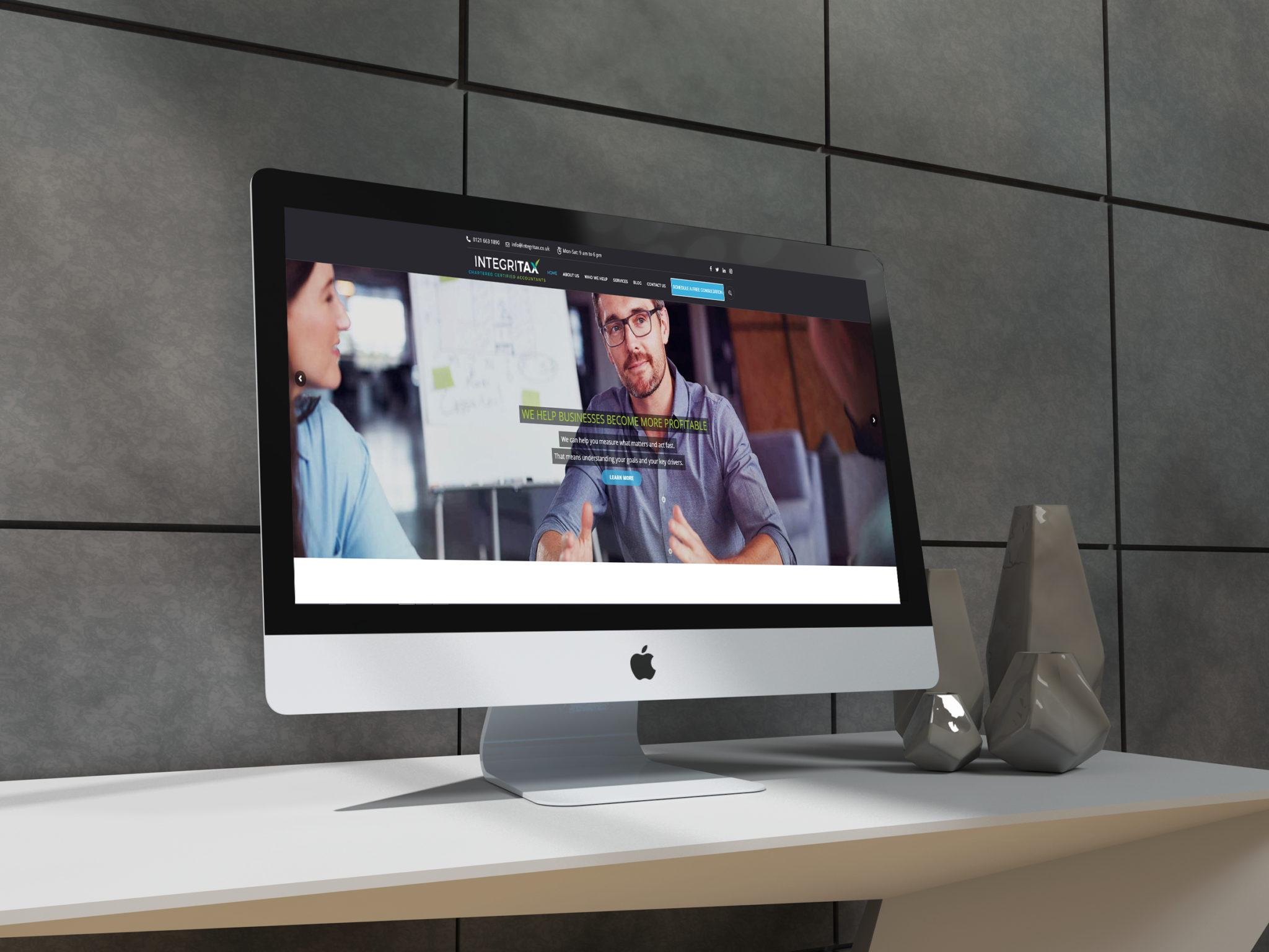 integritax website projects