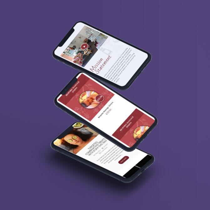 iphone mockup - mykspa