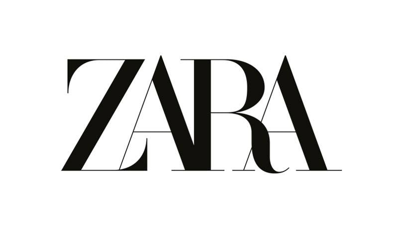 Fashion Brand Zara's Logo Update