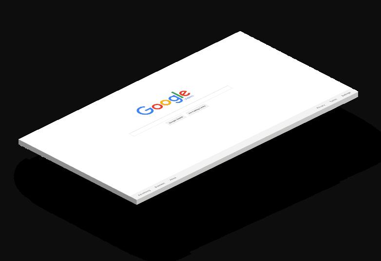 google-mockup