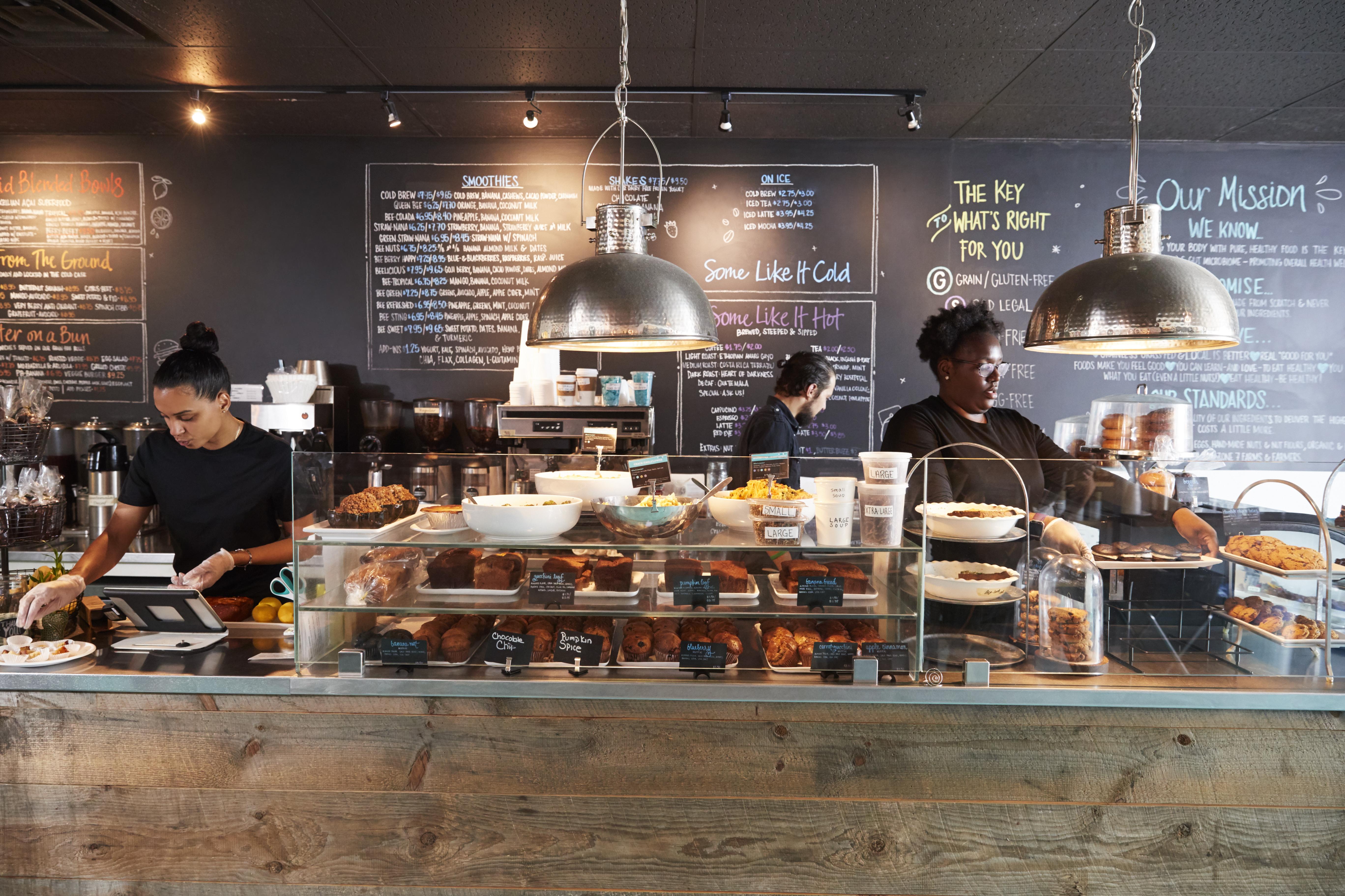 brand development - cafe