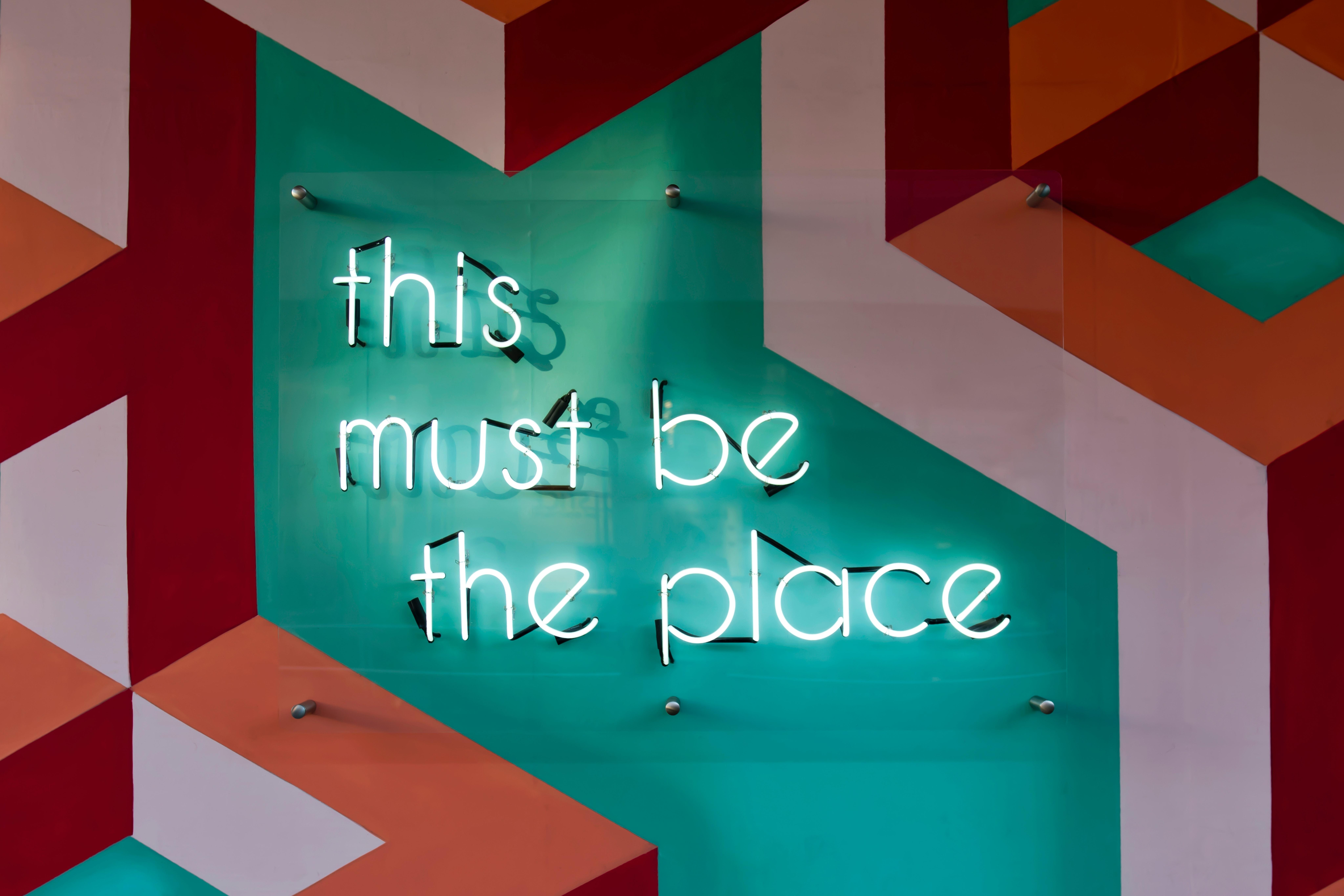 signage design image one